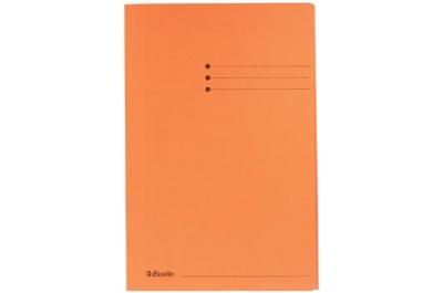 Esselte chemise de classement orange, ft folio