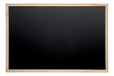 Maul tableau à craie avec cadre en bois, ft 60 x 80 cm