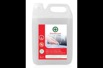 OxyClean désinfectant de la surface, flacon de 5 Litres - 80% mélange d'éthanol dénaturé